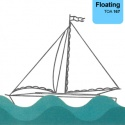 Floating on Water - Bluestar